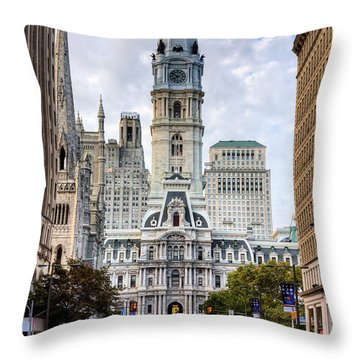 Philadelphia Throw Pillows