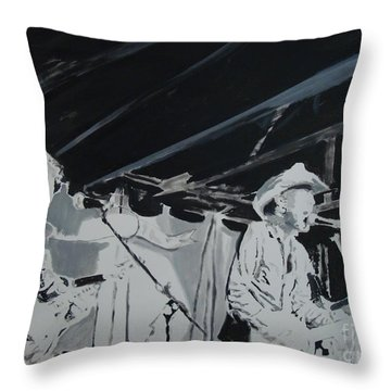 Historic Throw Pillow by Stuart Engel