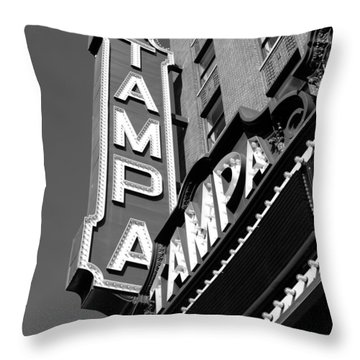 Historic Tampa Throw Pillow