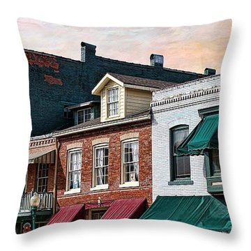 Historic Weston Throw Pillow