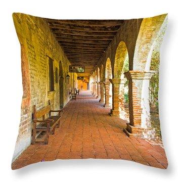 Historical Porch Throw Pillow