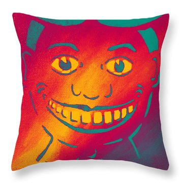 Historically Hot Throw Pillow by Patricia Arroyo