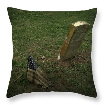 Remembered Throw Pillow by Cynthia Lassiter