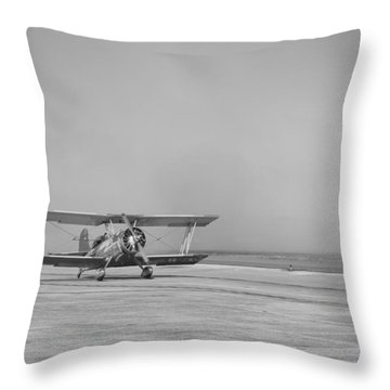History Meets Showtime Throw Pillow by Thomas Leon