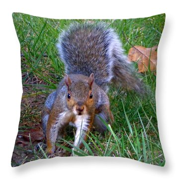 Hiya Throw Pillow