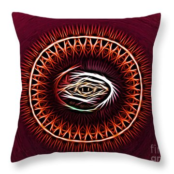 Hj-eye Throw Pillow