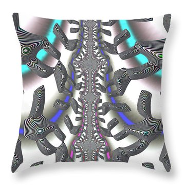 Hj-way Forward Throw Pillow
