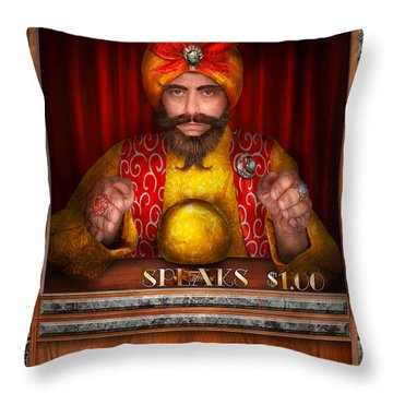 Hobby - Have Your Fortune Told Throw Pillow