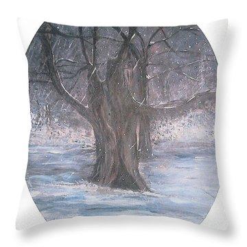 Hobgoblin Tree Throw Pillow
