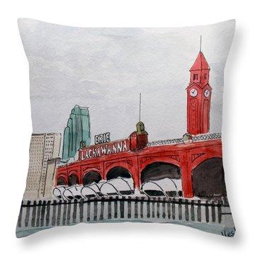 Hoboken Throw Pillow