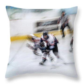 Ice Hockey Throw Pillows