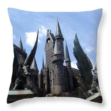 Hogwarts Castle Throw Pillow