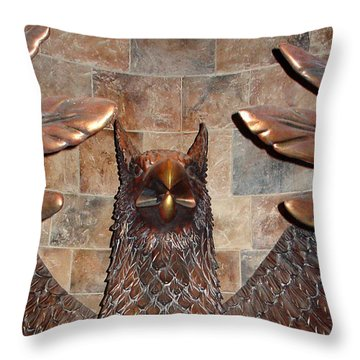 Hogwarts Hippogriff Guardian Throw Pillow
