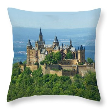 Hohenzollern Castle 5 Throw Pillow