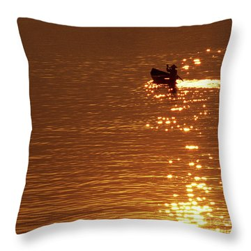 Hoi An Sunrise 03 Throw Pillow