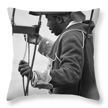 Throw Pillow featuring the photograph Hoist The Sails by Al Fritz