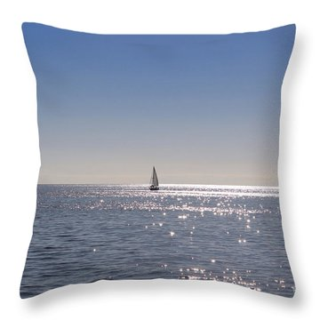 Hold My Calls Throw Pillow
