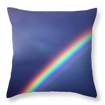 Hold On For Hope Throw Pillow by Amanda Barcon
