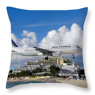 Hold On  Throw Pillow by Karen Wiles