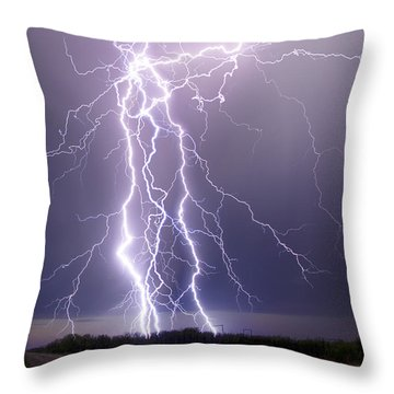 Hold The Heavens From The Earth Throw Pillow