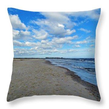 Holden Beach Nc Throw Pillow