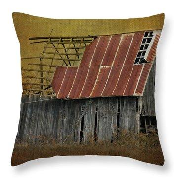 Holdin' On Throw Pillow