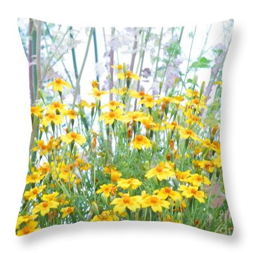 Holding The Foreground Throw Pillow
