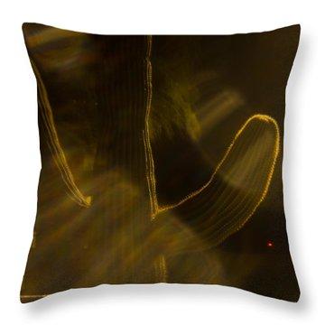 Throw Pillow featuring the photograph Holga Saguaro 10 by Carolina Liechtenstein