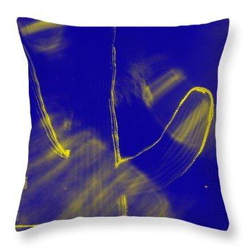 Throw Pillow featuring the photograph Holga Saguaro 11 by Carolina Liechtenstein