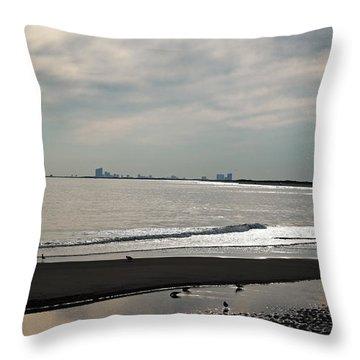 Holgate Calm Surf  Throw Pillow by Elsa Marie Santoro