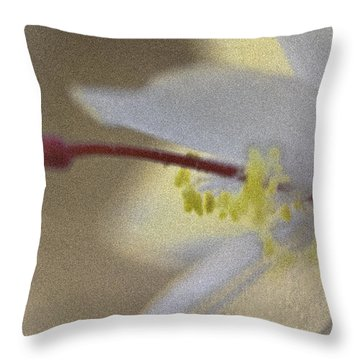 Holiday Cactus Throw Pillow