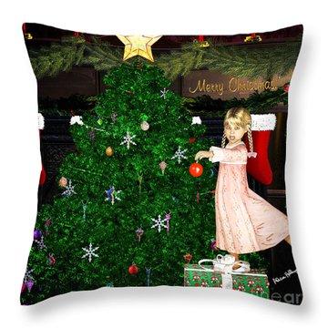 Holiday Dreams Throw Pillow