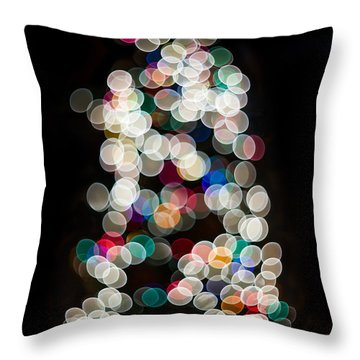Throw Pillow featuring the photograph Holiday In Color by Aaron Aldrich