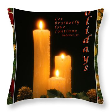 Holiday Love Declaration2 Throw Pillow