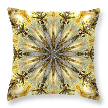 Holiday Pop Throw Pillow by Scott Kingery