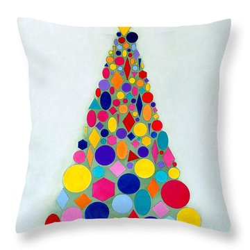 Holiday Tree #1 Throw Pillow