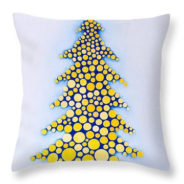 Holiday Tree #2 Throw Pillow