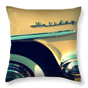 Holiday Throw Pillow by Valerie Reeves
