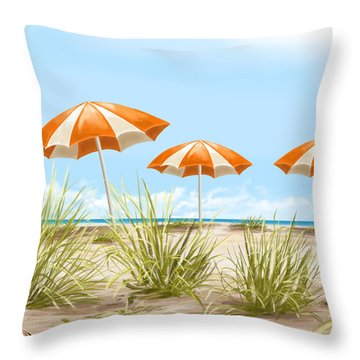 Holiday Throw Pillow by Veronica Minozzi