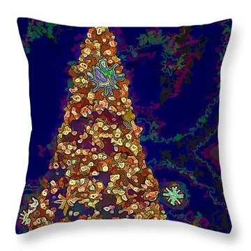 Holiday Wonders Throw Pillow