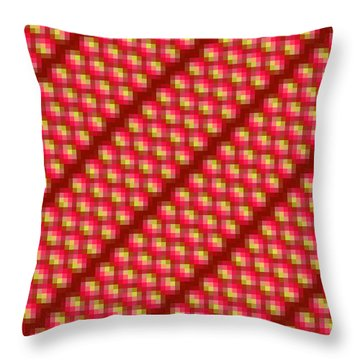 Ruby Rivers - Holistic Sensorial Experience Throw Pillow