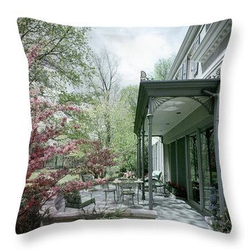Hollis Baker's Patio Throw Pillow