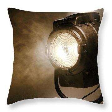 Throw Pillow featuring the photograph Hollywood by Olivier Le Queinec