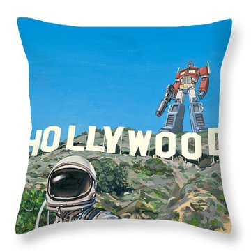 Science-fiction Throw Pillows