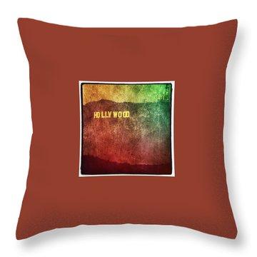 Hollywood Throw Pillows