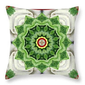 Throw Pillow featuring the photograph Holy Days by Bell And Todd