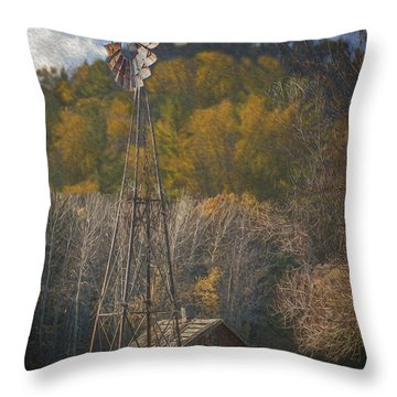 Holy Hill  Wisconsin Throw Pillow by Jack Zulli