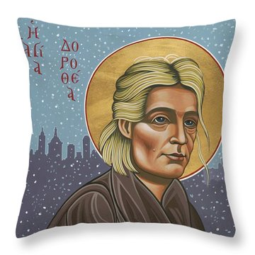 Holy Prophet Dorothy Day 154 Throw Pillow