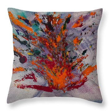 Holy Spirit Fire Throw Pillow