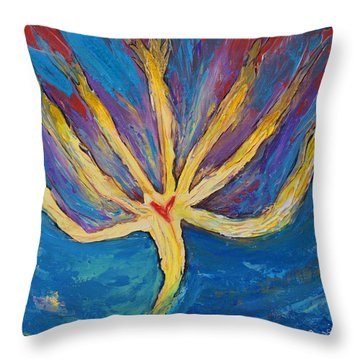 Holy Spirit Which Dwells In You Throw Pillow